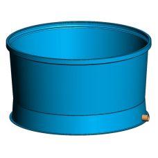 Емкость для рыбы на 3900 литров