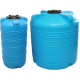 Вертикальные, цилиндрические пластиковые пищевые бочки для воды V серия