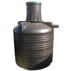 Пластиковая выгребная яма на 3000 литров